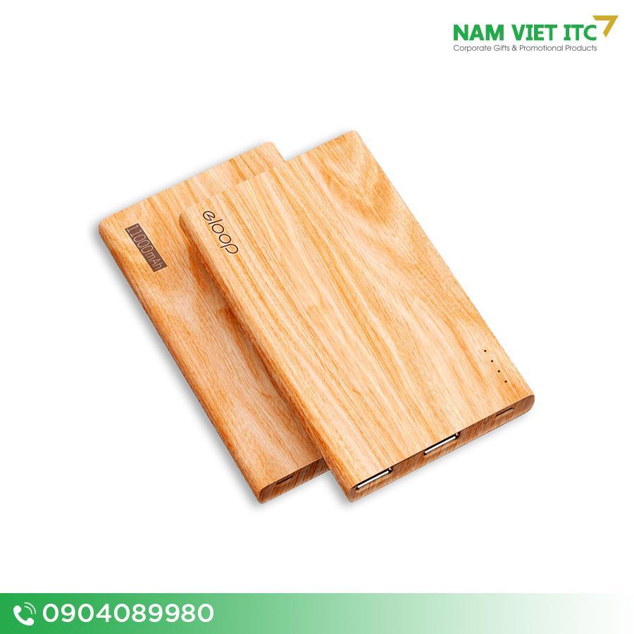 Pin sac du phong go Eloop chinh hang 10000mAh