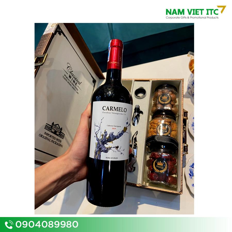 Rượu vang Carmelo Tây Ban Nha